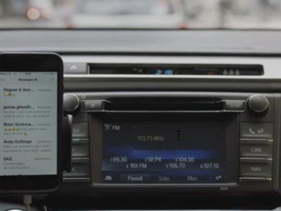 【STOP運転中スマホ】ラジオCMがiPhoneのSiriに話かけてフライトモードにしちゃいます