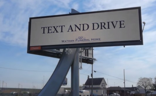 TXT AND DRIVE