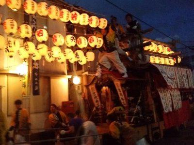 喧嘩だんじり祭り(2016/10/2):徳島県阿南市橘町