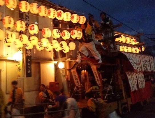 20161002橘町だんじり祭り