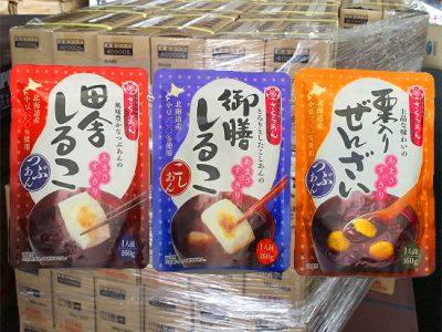 【商品】谷尾の「おしるこ・ぜんざい」パウチ160gが売れてます!