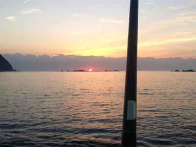 [徳島の秋]休日の朝は早い!みんなアオリイカ釣りへ・・・