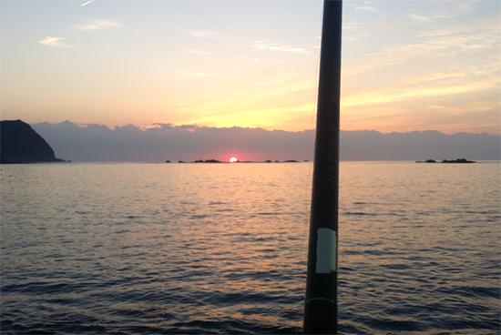 徳島の秋といえばアオリイカのヤエン釣り