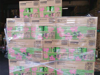 伊藤園「お~いお茶」が桜柄で入荷