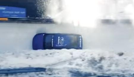スバル自動車ボブスレーコースCM