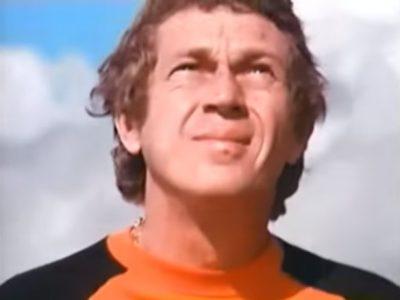 [cm]スティーブ・マックイーンのバイクCM