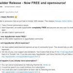 [ai]えぇ、大ニュース「AppyBuilder」が無料になってる!