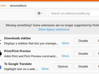 [it]おすすめFirefox add-on 2つ「Print/Print Preview」「Downloads sidebar」
