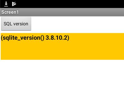 Android6.0.1のSQLiteは3.8.10.2