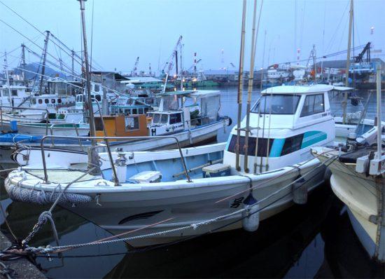 2019年7月28日(日)大野海苔の専務さんと釣りに行きました:朝5時