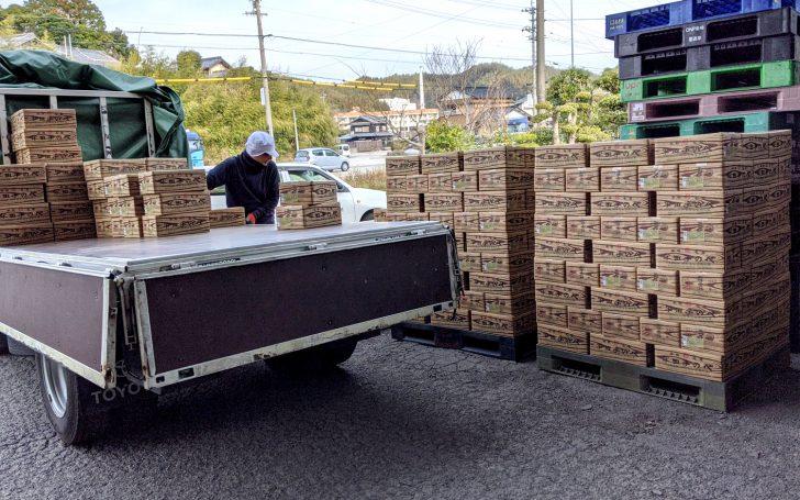 「竹田製麺所 半田手延べそうめん5kg」2020年の初荷が届きました