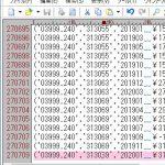 [SQLite]Bulk insert最大レコード数は約270,000行