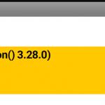 [ai]Android 11のSQLite versionは3.28.0