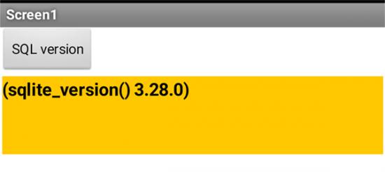 Android 11のSQLite vsersionは3.28.0