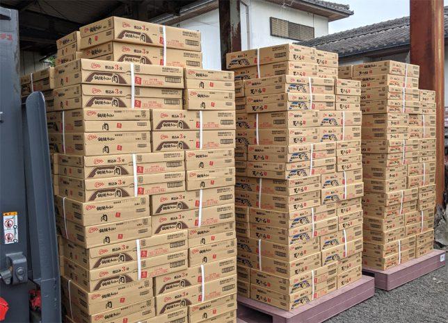 秋冬限定販売、徳島製粉「金ちゃん亭 鍋焼きうどん」シリーズが本日入荷