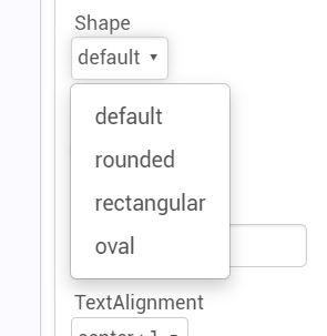 [自作ハンディターミナルアプリ改良]ボタンにmarginを追加するエクステンション:SimplerGUIExtension(App Inventor2 extension)ボタンスタイルは4種類