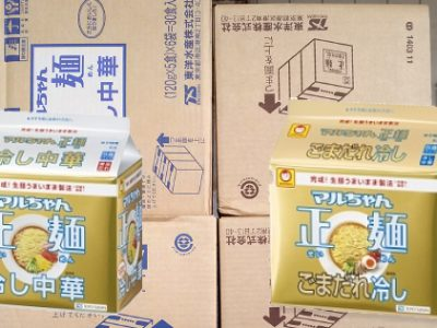 【新製品】マルちゃん「正麺 冷し中華ごまだれ」を仕入れました