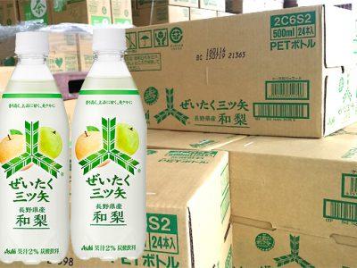 【新製品】8月4日発売『ぜいたく三ツ矢 長野県産和梨』売れてます