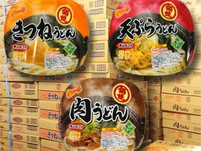 【冬商品】金ちゃん亭「鍋焼うどん」の初荷