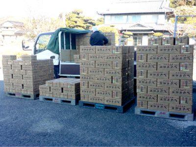 【夏商戦スタート!】竹田製麺から2016年の2便目が届きました